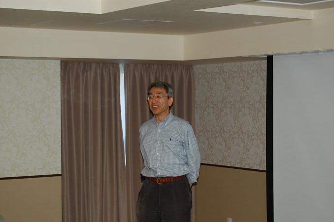 福島の斉藤教授のご挨拶