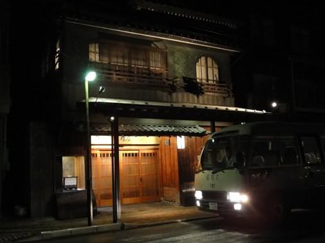 会場は新潟市本町の大橋屋。風情があります。