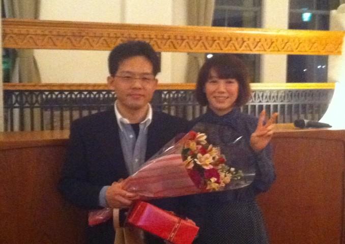 宇塚先生、脳腫瘍グループを5年間牽引されました。