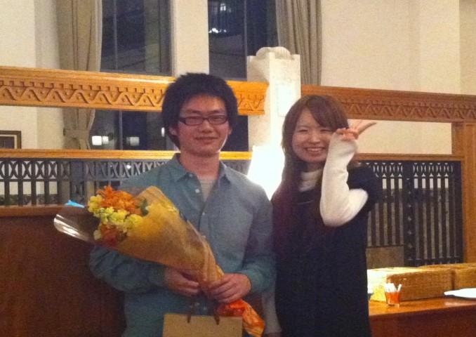 渡邉先生、一周り成長してのお帰りをお待ちしております。