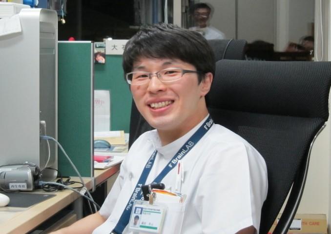 藤原秀元先生、県立新発田病院で活躍中。