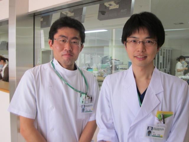 写真 左:野澤先生、右:笠見先生