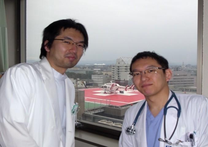 写真)左:渋間先生、右:田村先生