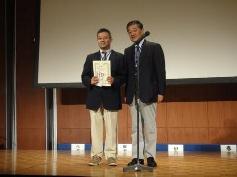 プレゼンターは佐々木富男先生でした。