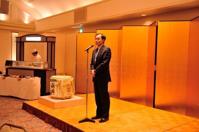 藤井先生より開会の挨拶