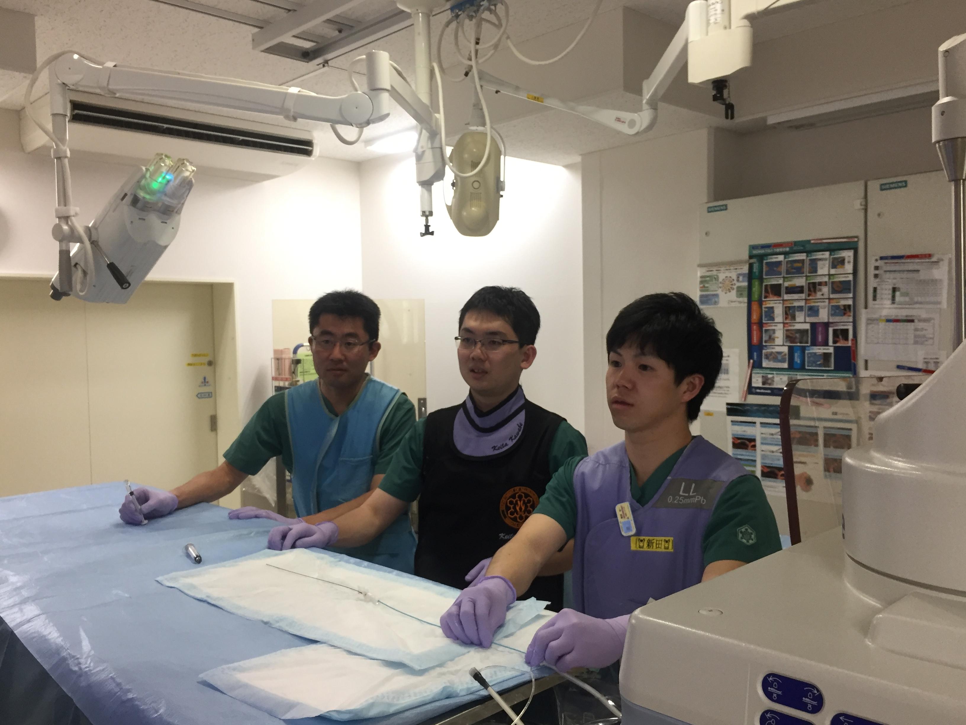 熱心な初期研修医も参加してくれました。次回もたくさんの先生方のご参加をお待ちしております