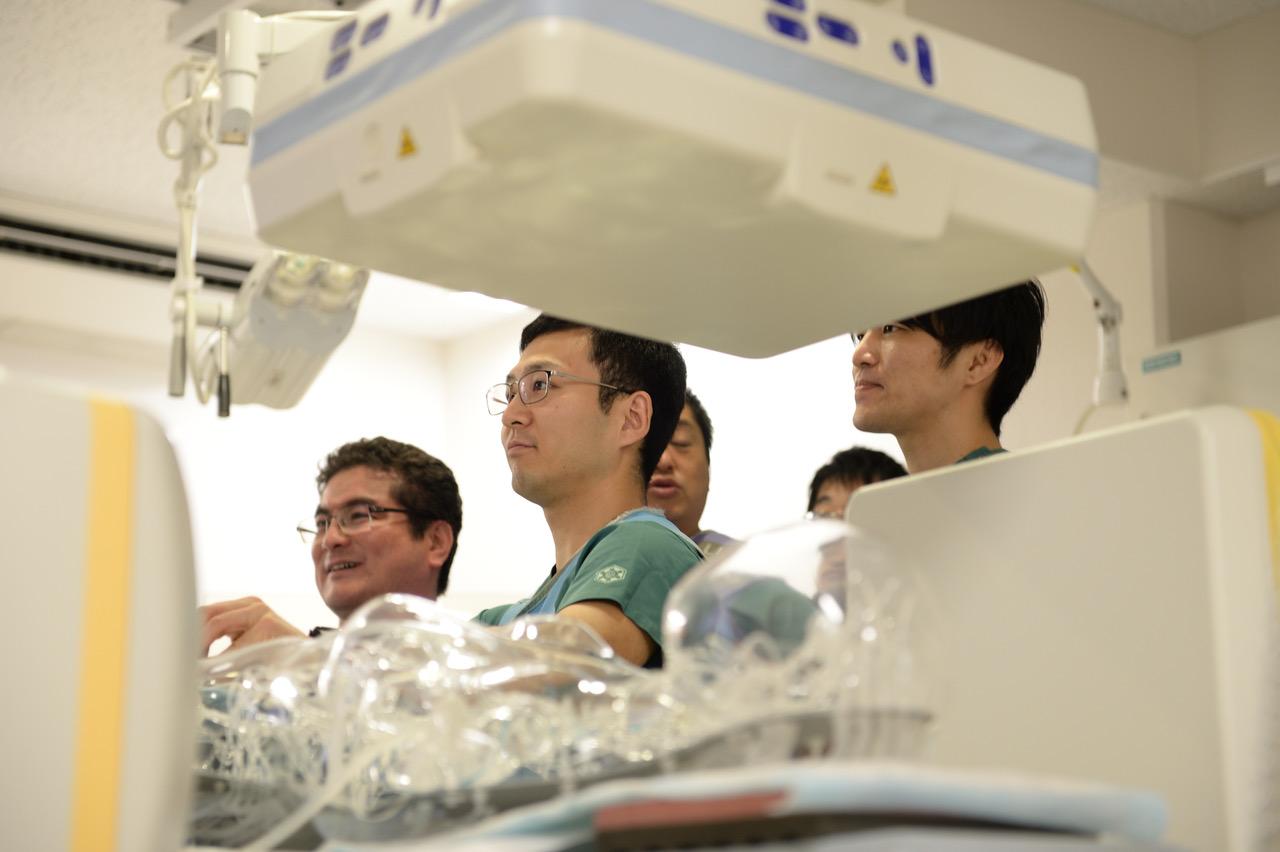 将来神経系を志している研修医の先生方にも多数参加いただきました。