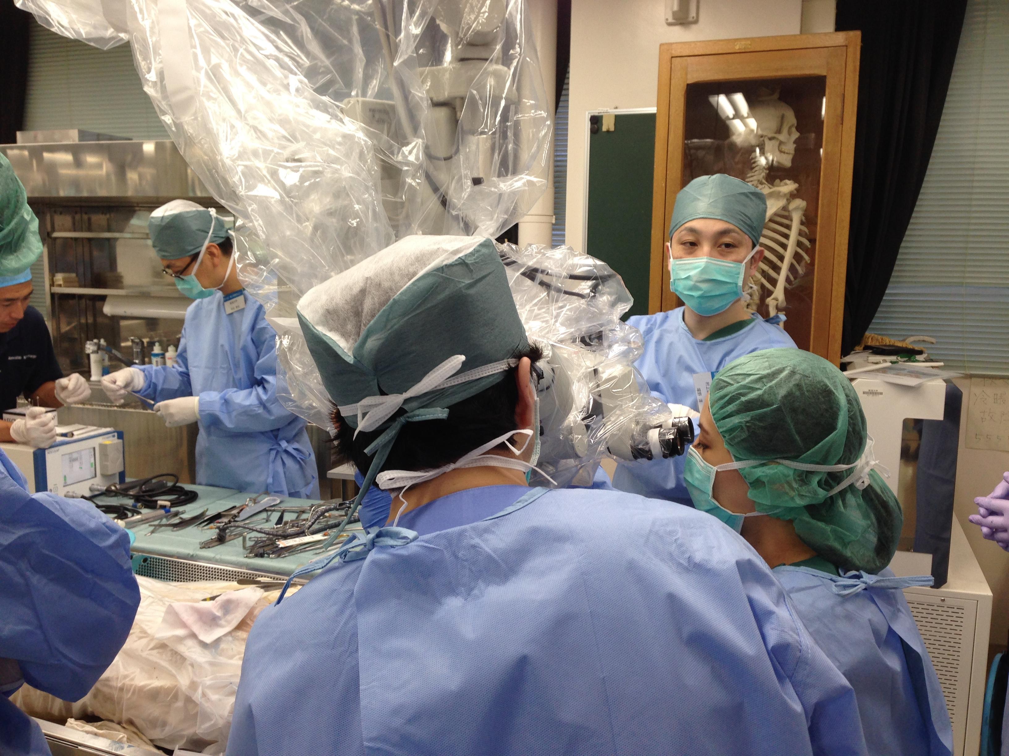 脳神経に興味のある研修医の先生達が各病院から参加してくれました。