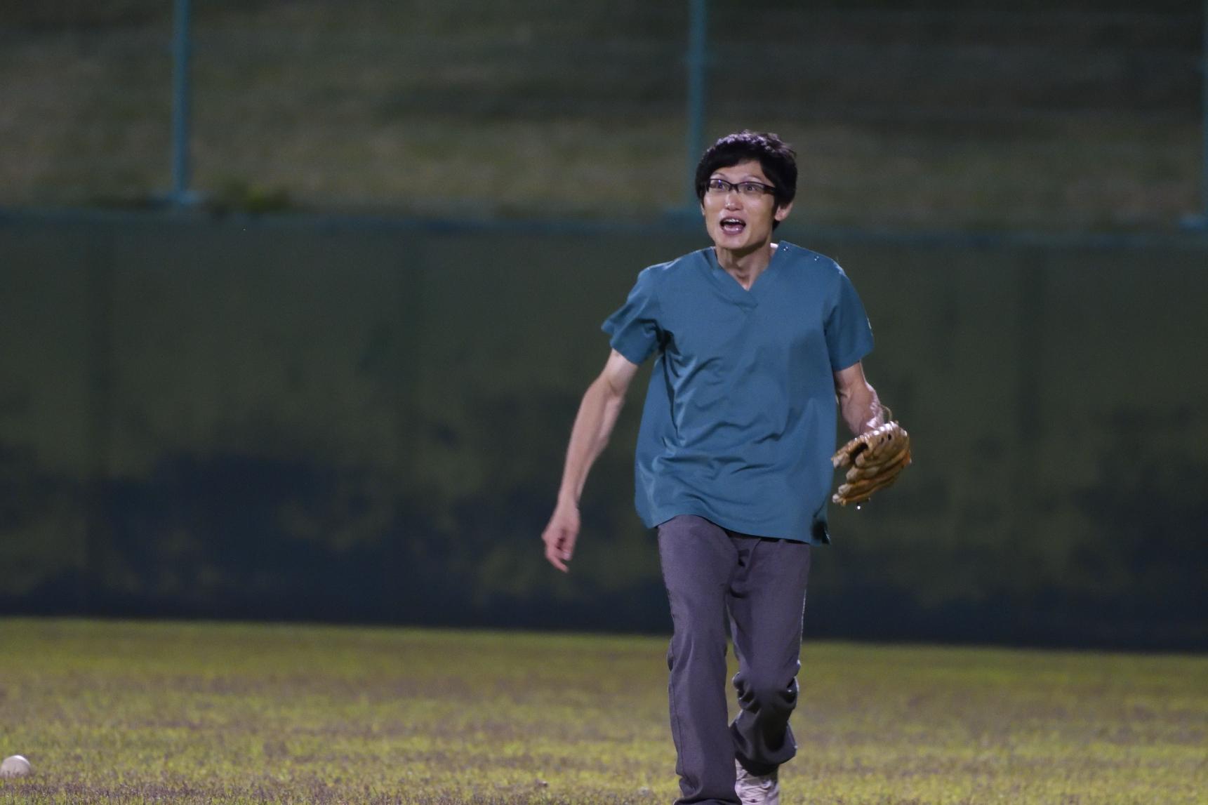 この日、小倉先生は野球の魅力に取り憑かれました
