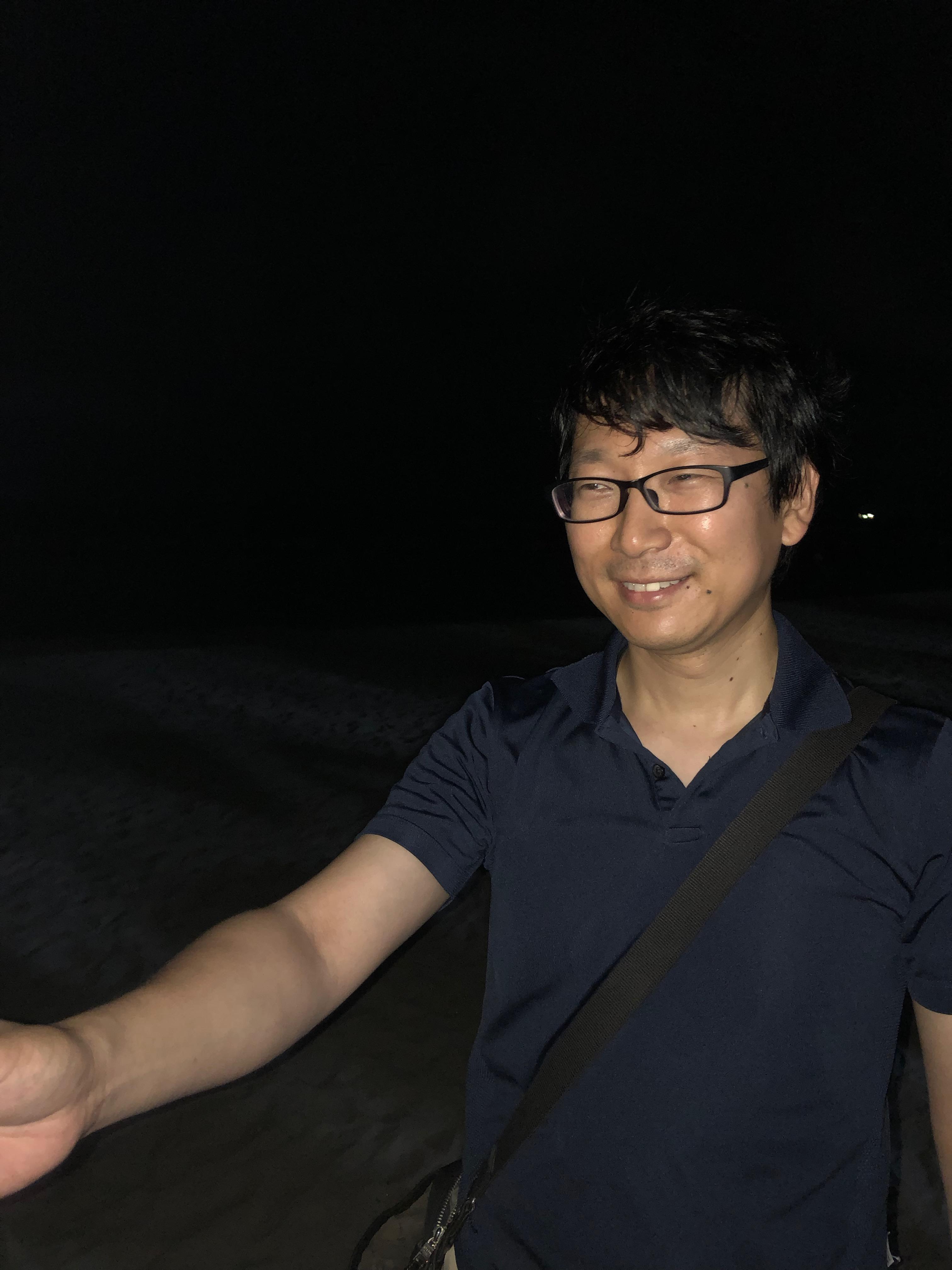 塚本先生の満面の笑み