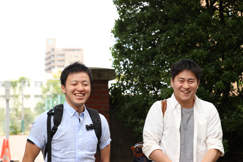 新入局員の大久保先生(左)、佐竹先生(右)。いいキャラの二人です。