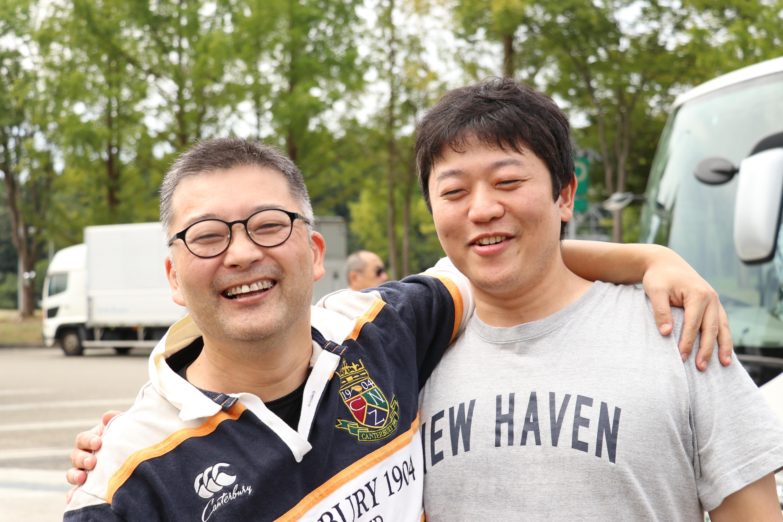 専門医試験に受かった吉田先生、気分はHAVEN。  大石先生もご機嫌です。