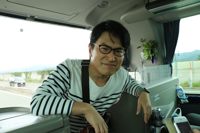 今年のカメラマン(太田先生)。レンズのウンチクにはついていけませんでした。